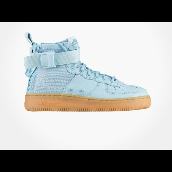 Nike Shoes | New Nike Sf Af Baby Blue